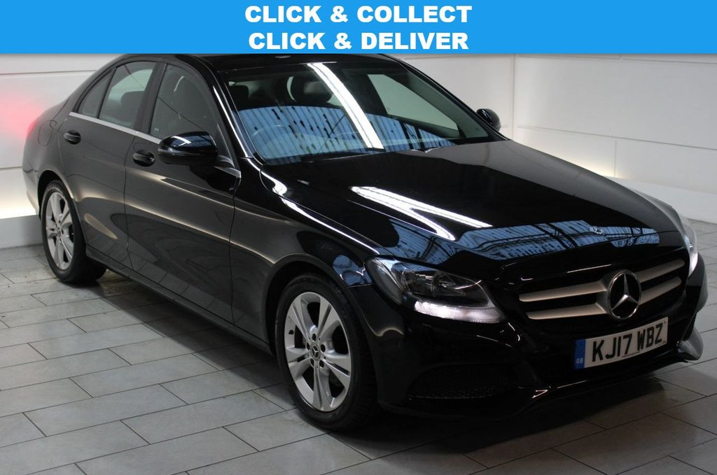 USED 2017 17 MERCEDES-BENZ C-CLASS 2.1 C220d SE Executive Edition G-Tronic+ (start/stop)