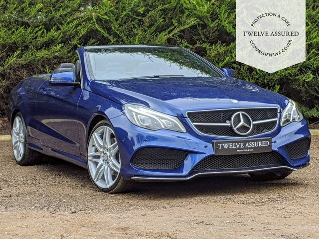 USED 2016 66 MERCEDES-BENZ E-CLASS 2.1 E 220 D AMG LINE EDITION 2d AUTO 174 BHP (1 OWNER, MERCEDES HISTORY & APPLE CAR PLAY)
