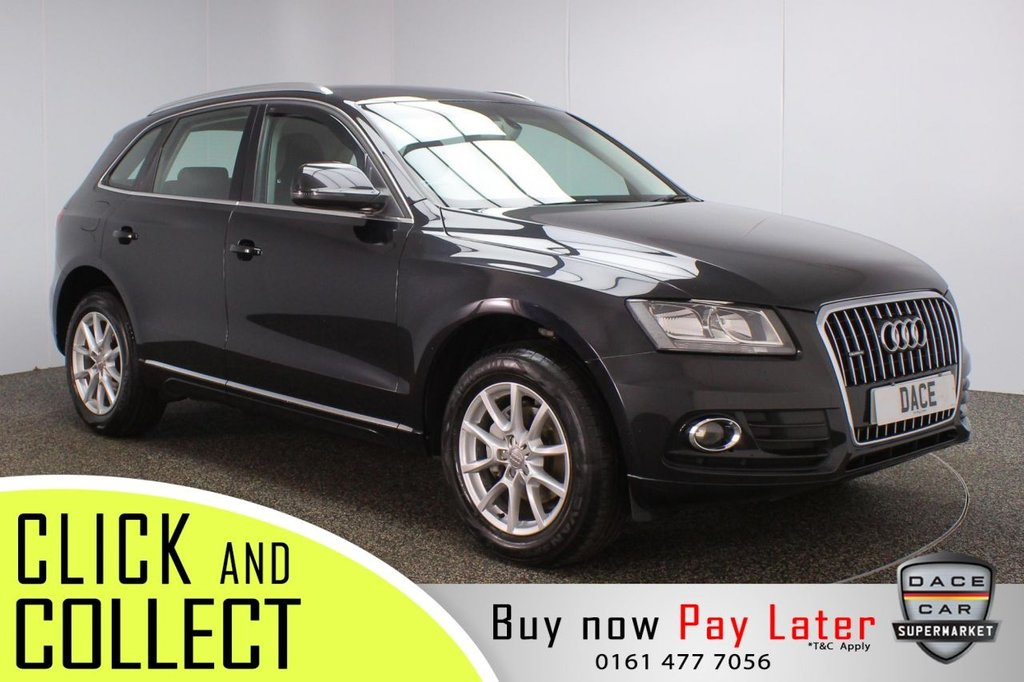 USED 2013 63 AUDI Q5 2.0 TDI QUATTRO SE START/STOP 5DR 148 BHP FULL SERVICE HISTORY + LEATHER SEATS + PARKING SENSOR + BLUETOOTH + CRUISE CONTROL + CLIMATE CONTROL + MULTI FUNCTION WHEEL + DAB RADIO + AUXILIARY PORT + ELECTRIC WINDOWS + ELECTRIC/HEATED DOOR MIRRORS + 18 INCH ALLOY WHEELS