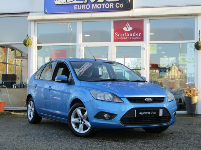 USED 2011 11 FORD FOCUS 1.6 ZETEC 5d 99 BHP Finished in VISION BLUE METALLIC with contrasting Grey Cloth trim. This is a modern day peoples car. It is a reliable, practical and affordable vehicle that is liked by everyone. Great features which include Alloys, Heated Front Screen, Rear Parking Sensors, Front Fogs, Air Con and much more. Dealer serviced at 7812 miles, 16214 miles, 39117 miles, 52447 miles and on arrival at 60942 miles.