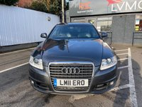 USED 2011 11 AUDI A6 2.0 AVANT TDI LE MANS 5d 168 BHP SAT NAV, LEATHER, HEATED SEATS