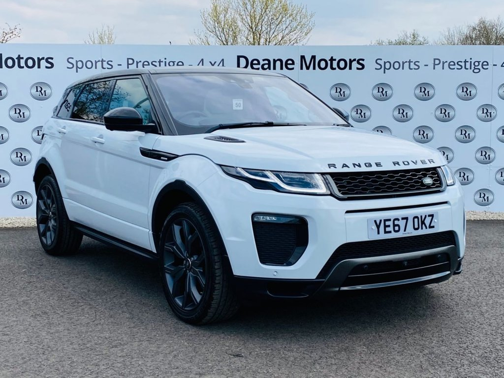 USED 2017 66 LAND ROVER RANGE ROVER EVOQUE 2.0 TD4 AUTOBIOGRAPHY 5d 177 BHP BIG SPECIFICATION