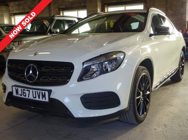 USED 2017 67 MERCEDES-BENZ GLA-CLASS 2.1 GLA 200 D AMG LINE 5d 134 BHP FULL MERC HISTORY/1 OWNER