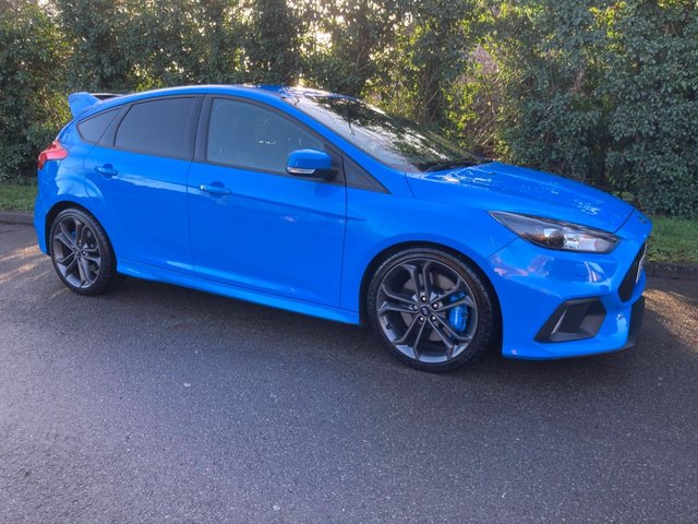 2017 67 FORD FOCUS RS 2.3 RS 5d 346 BHP AWD 4WD