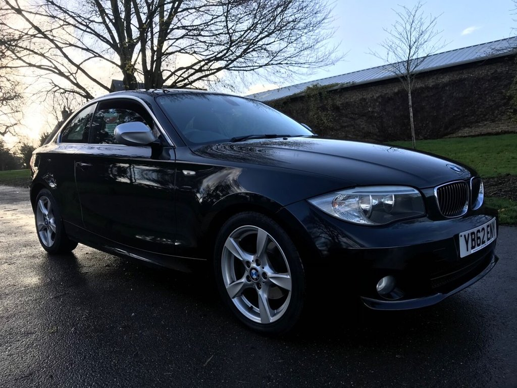 USED 2012 62 BMW 1 SERIES 2.0 120I EXCLUSIVE EDITION 2d 168 BHP Leather Interior, Heated Seats, Bluetooth And Lots More !
