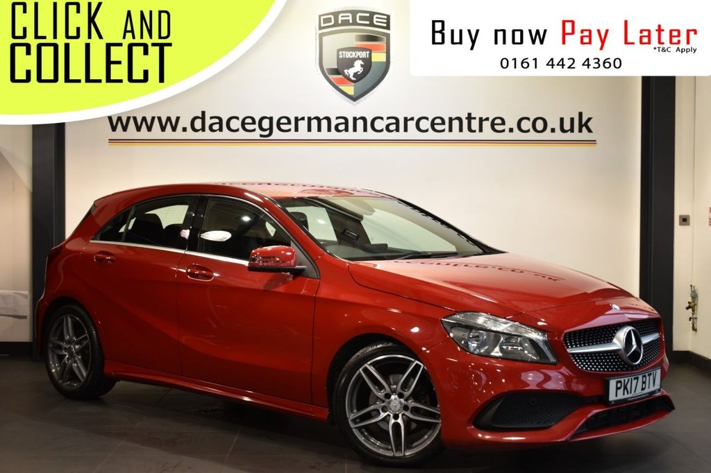 USED 2017 17 MERCEDES-BENZ A-CLASS 1.6 A 160 AMG LINE EXECUTIVE 5DR 102 BHP