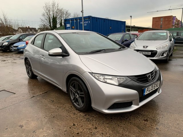 USED 2013 13 HONDA CIVIC 1.8 I-VTEC TI 5d 140 BHP FULL DEALER SERVICE HISTORY