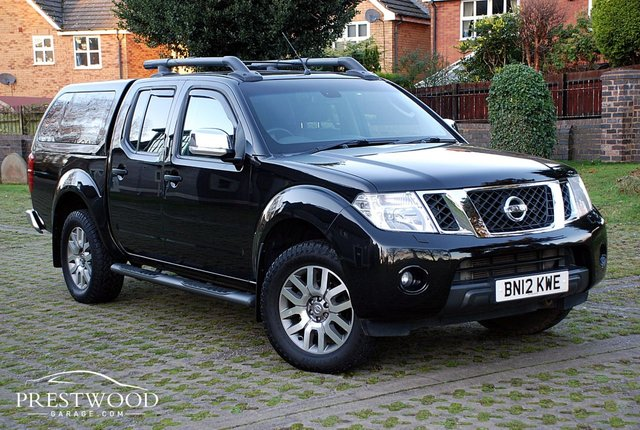 2012 12 NISSAN NAVARA 3.0 DCI V6 OUTLAW DOUBLE CAB PICK-UP 4X4 [230 BHP]