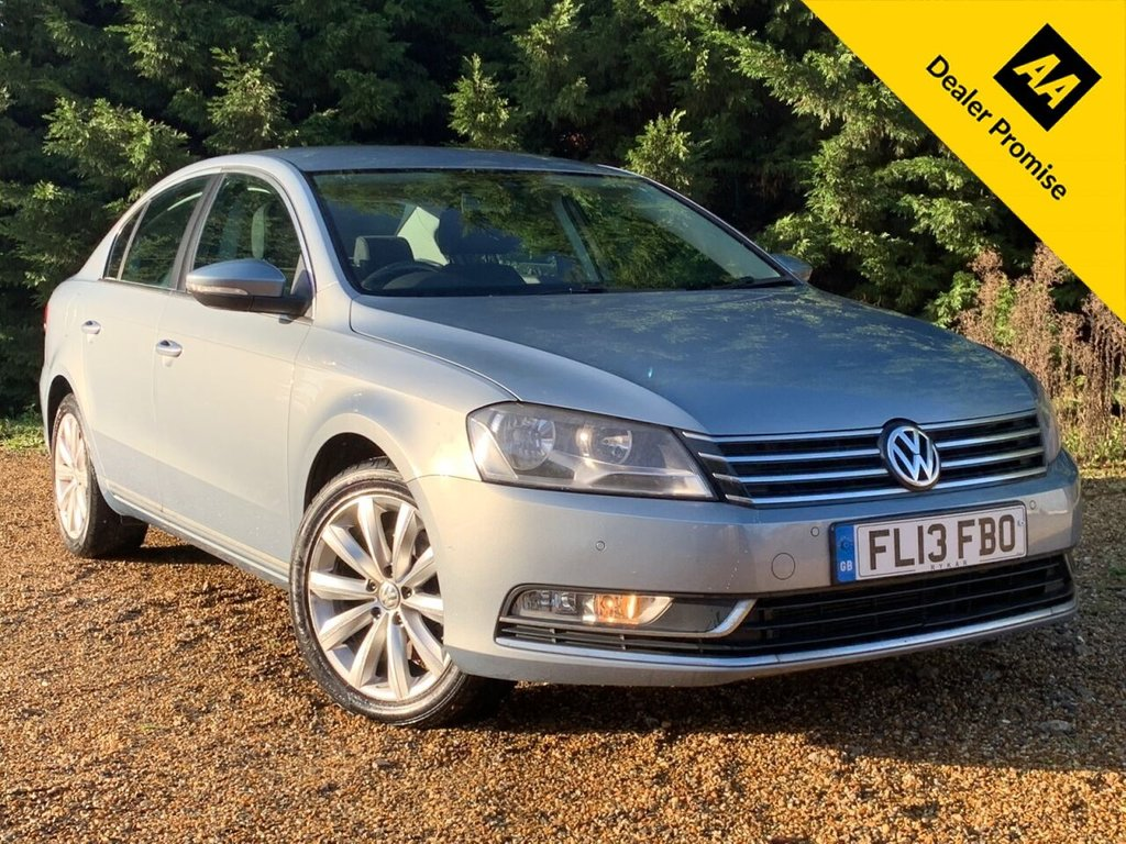USED 2013 13 VOLKSWAGEN PASSAT 2.0 HIGHLINE TDI BLUEMOTION TECHNOLOGY DSG 4d 139 BHP