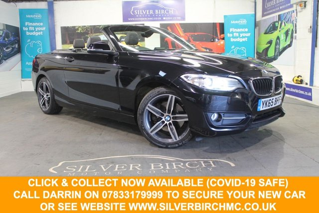 USED 2015 65 BMW 2 SERIES 2.0 220D SPORT 2d 188 BHP Huge Spec £4330 of extras