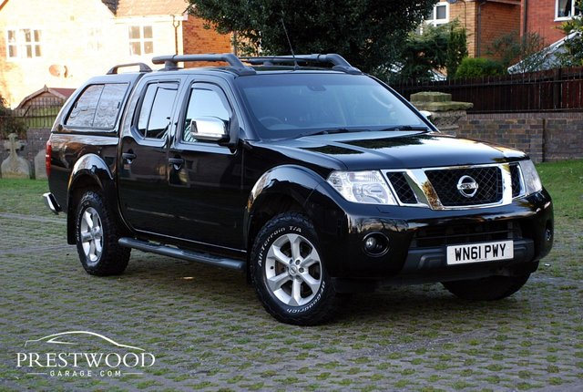 2012 61 NISSAN NAVARA 2.5 DCI TEKNA DOUBLE CAB PICK-UP 4X4 [190 BHP]