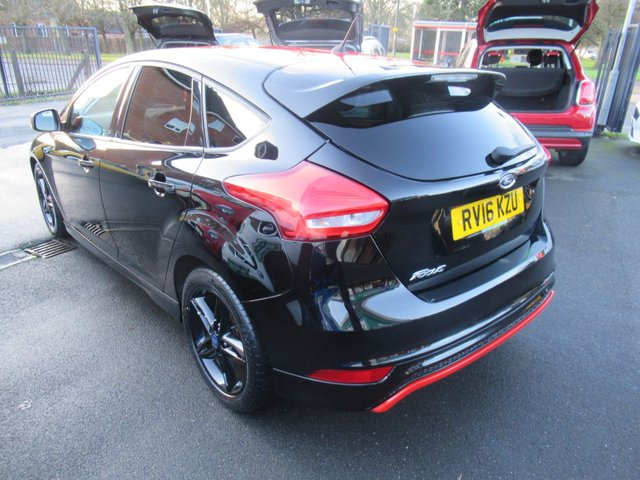USED 2016 16 FORD FOCUS 2.0 ZETEC S TDCI BLACK EDITION 5d 148 BHP TEST DRIVE TODAY 01543 379066
