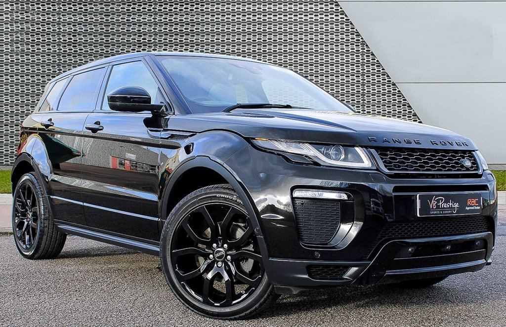 USED 2017 17 LAND ROVER RANGE ROVER EVOQUE 2.0 TD4 HSE DYNAMIC LUX 5d 177 BHP BLACK PACK/LUX MODEL/PAN ROOF