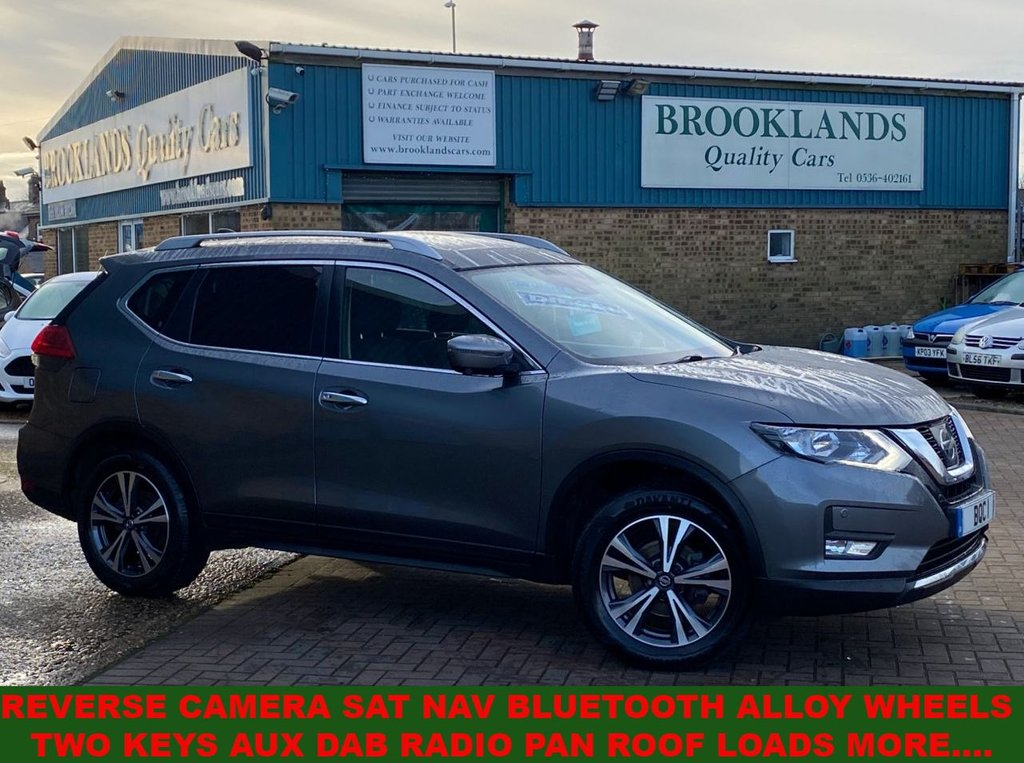 USED 2018 18 NISSAN X-TRAIL 1.6 DCI N-CONNECTA GUN METAL MET. ONLY 20218 MILES 130 BHP  Reverse Camera Sat Nav Bluetooth Alloy Wheels Two Keys Aux Dab Radio Pan Roof Loads More....