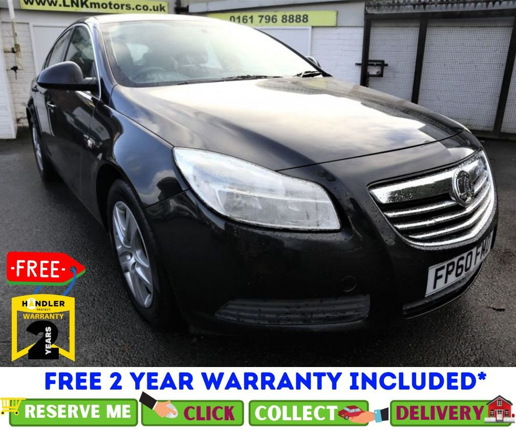 USED 2010 60 VAUXHALL INSIGNIA 2.0 EXCLUSIV NAV CDTI ECOFLEX 5d 128 BHP *CLICK &  COLLECT OR DELIVERY