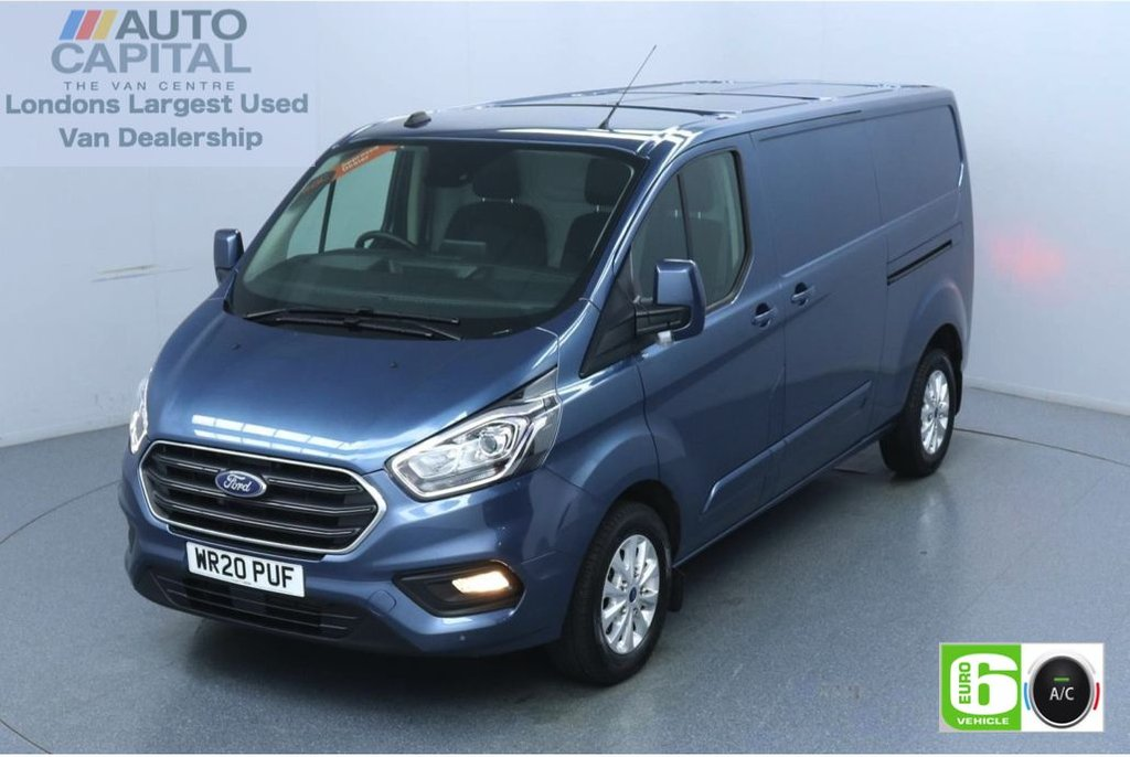 USED 2020 20 FORD TRANSIT CUSTOM 2.0 300 Limited EcoBlue 130 BHP L2 H1 Euro 6 Low Emission Sat Nav | Eco Mode | Auto Start-Stop | Front and rear parking distance sensors