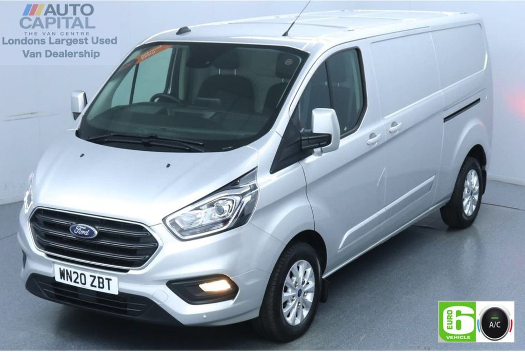 USED 2020 20 FORD TRANSIT CUSTOM 2.0 320 Limited EcoBlue Auto 170 BHP L2 H1 Euro 6 Low Emission Automatic Gearbox | Eco Mode | Auto Start-Stop | Front and rear parking distance sensors
