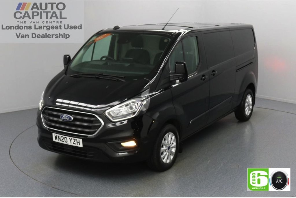 USED 2020 20 FORD TRANSIT CUSTOM 2.0 320 Limited EcoBlue Auto 170 BHP L2 H1 Euro 6 Low Emission Automatic transmission | Eco Mode | Auto start stop