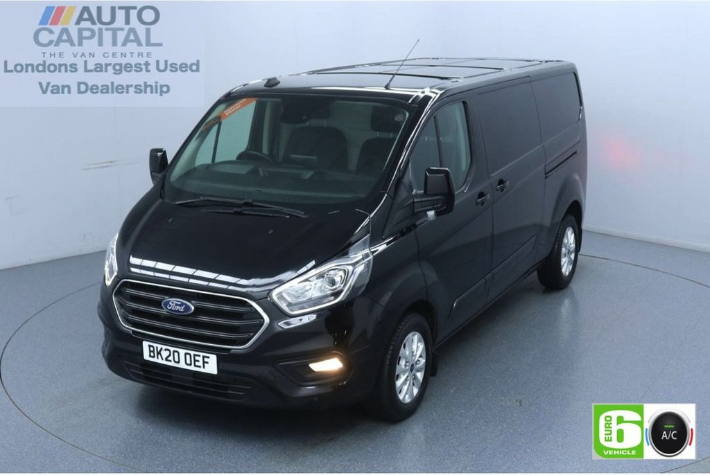 USED 2020 20 FORD TRANSIT CUSTOM 2.0 320 Limited EcoBlue 130 BHP L2 H1 Euro 6 Low Emission Eco Mode | Auto Start-Stop | Front and rear parking distance sensors