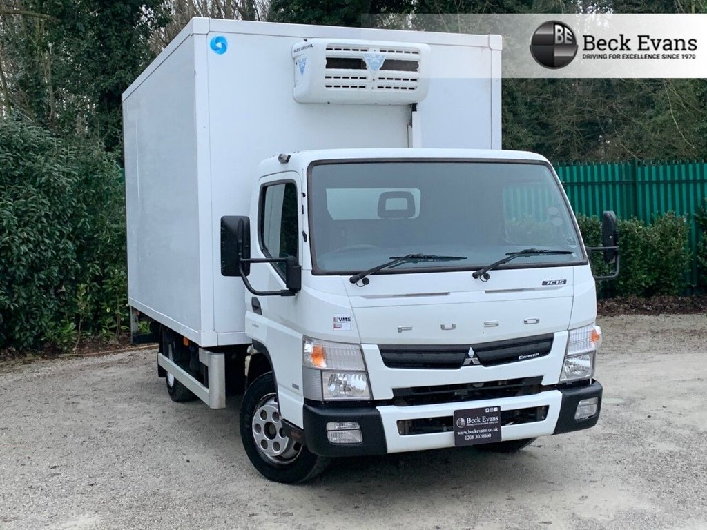 USED 2015 15 MITSUBISHI FUSO CANTER 3.0 7C15 34 148 BHP REFRIDGERATED TRUCK WITH TAILIFT TAIL LIFT