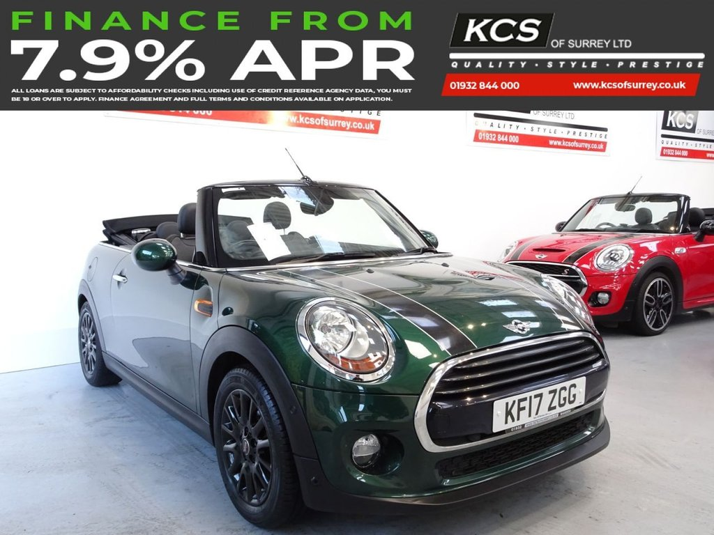 USED 2017 17 MINI CONVERTIBLE 1.5 COOPER 2d 134 BHP SAT NAV - HTD LEATHER - CAMERA