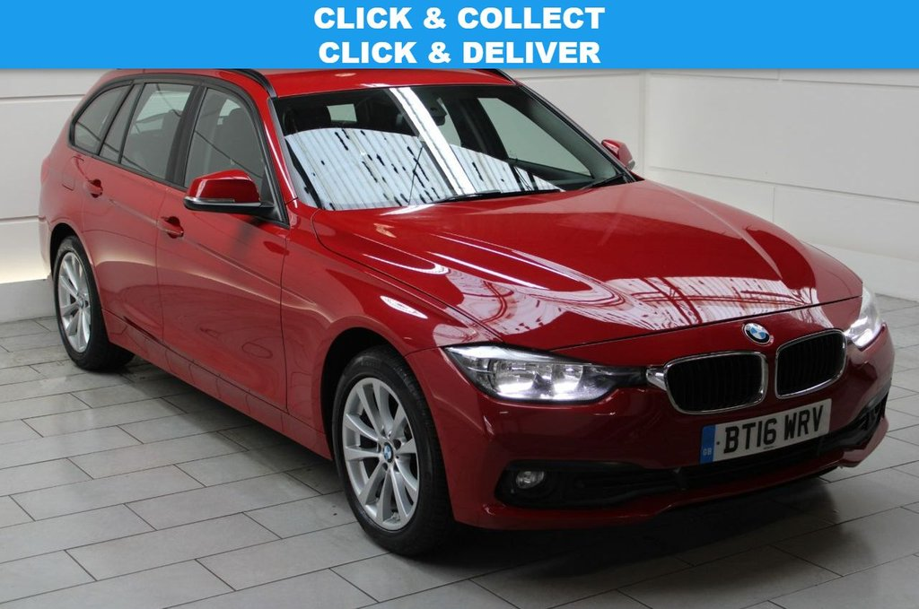 USED 2016 16 BMW 3 SERIES 2.0 320d SE Touring Auto xDrive (start/stop)