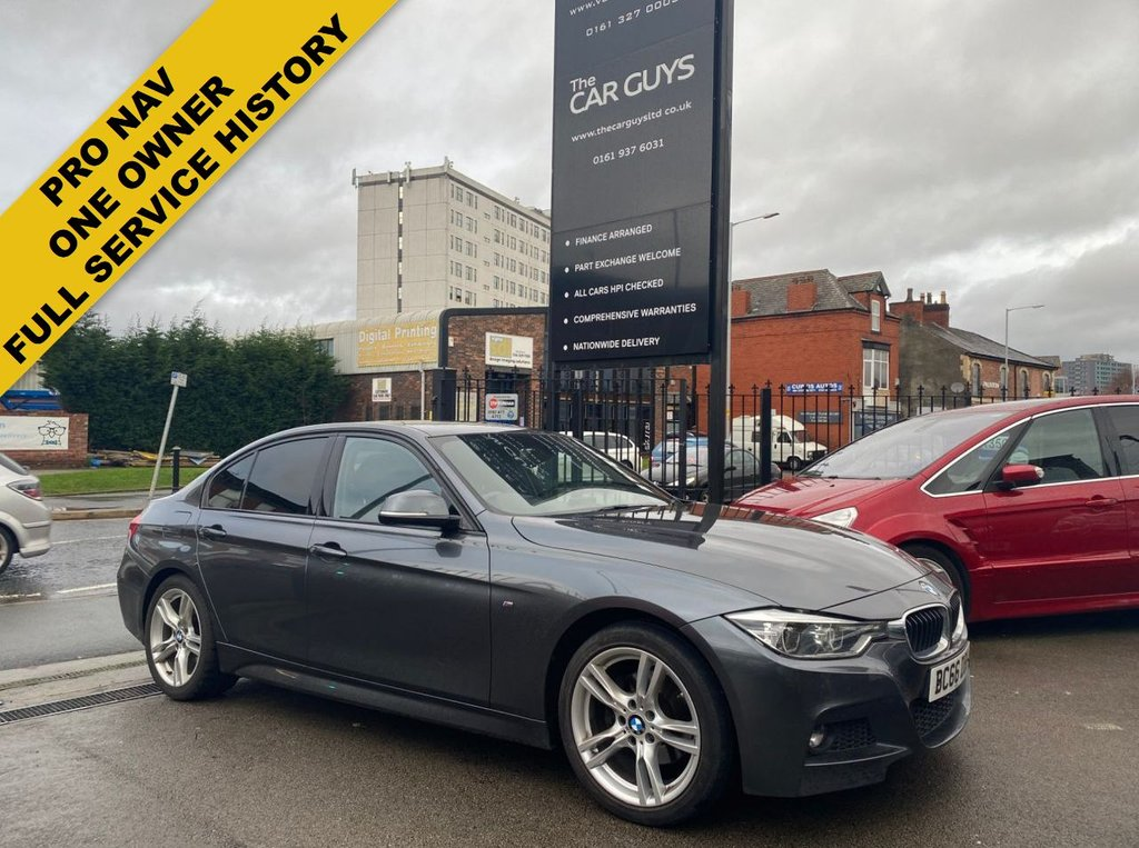 USED 2017 66 BMW 3 SERIES 2.0 320D M SPORT 4d 188 BHP