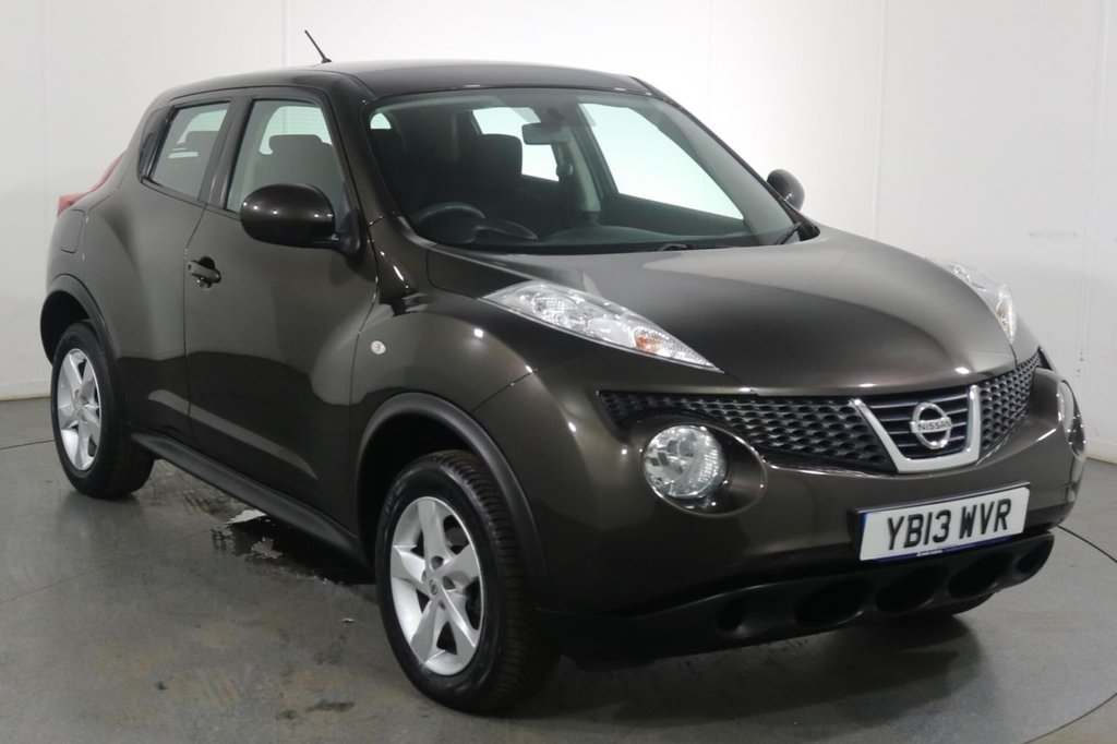 USED 2013 13 NISSAN JUKE 1.6 VISIA 5d 93 BHP 2 OWNERS with 3 Stamp SERVICE HISTORY