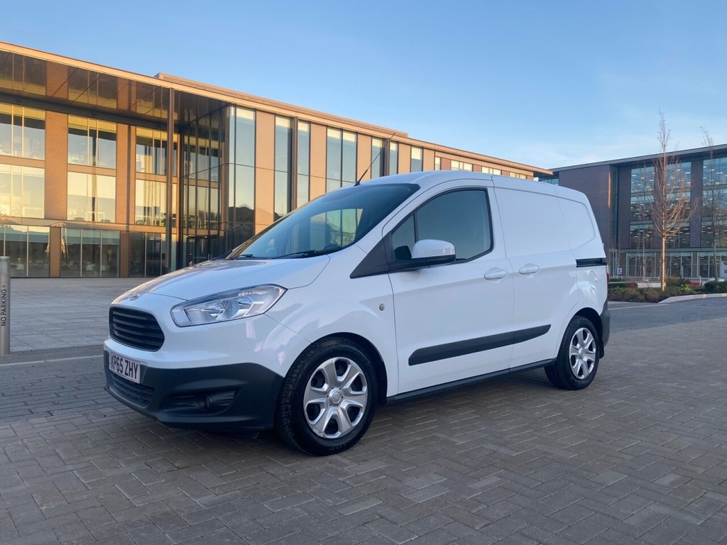 USED 2015 65 FORD TRANSIT COURIER TREND 1.6TDCI 95ps *AIRCON*BLUETOOTH*SENSORS* AIRCON-BLUETOOTH-GREAT VALUE