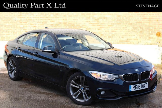 USED 2016 16 BMW 4 SERIES 2.0 420d Sport Gran Coupe (s/s) 5dr BLUETOOTH, SATNAV, USB