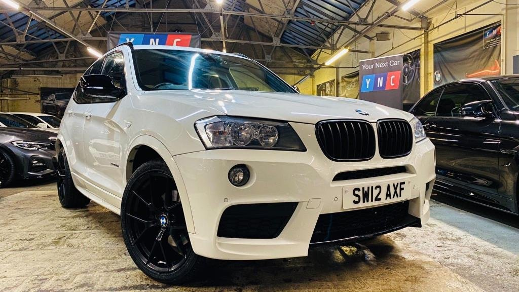USED 2012 12 BMW X3 2.0 20d M Sport Auto xDrive 5dr YNCSTYLING+20S+REVCAM