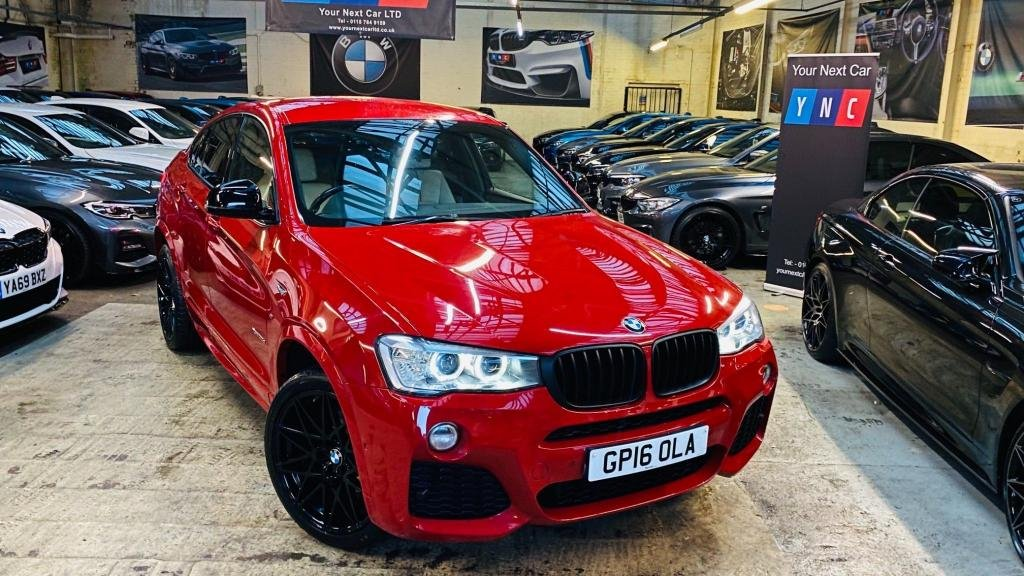 USED 2016 16 BMW X4 3.0 30d M Sport Auto xDrive (s/s) 5dr PERFORMANCEKIT+20S+REVCAM