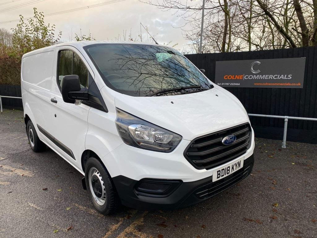 USED 2018 18 FORD TRANSIT CUSTOM 2.0 300 EcoBlue L1 H1 EU6 5dr **EURO 6**FORD WARRANTY**