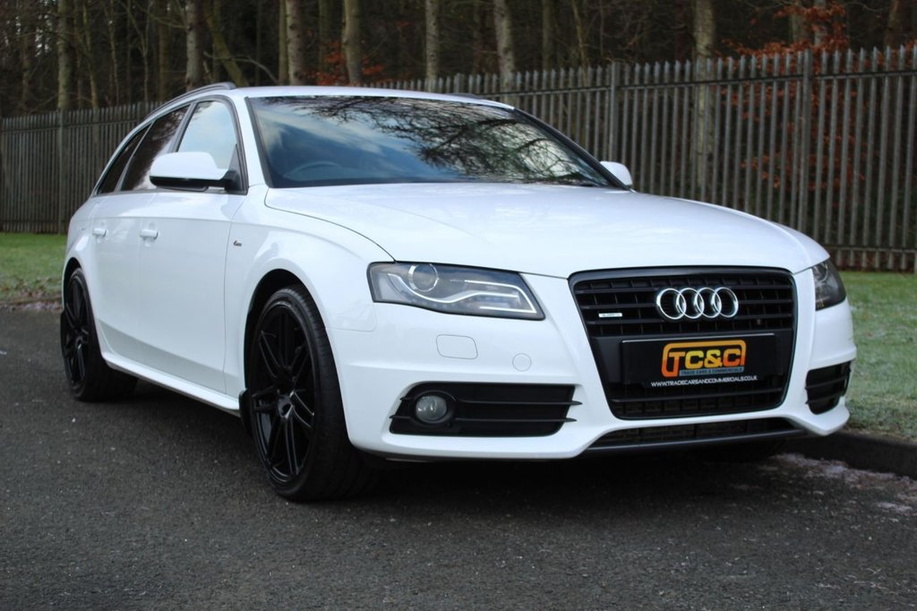 USED 2011 60 AUDI A4 AVANT AVANT TDI QUATTRO DPF S LINE A GREAT LOOKING A4 QUATTRO WITH BLACK PACK STYLING, SERVICE HISTORY INC TIMING BELT SERVICE!!!