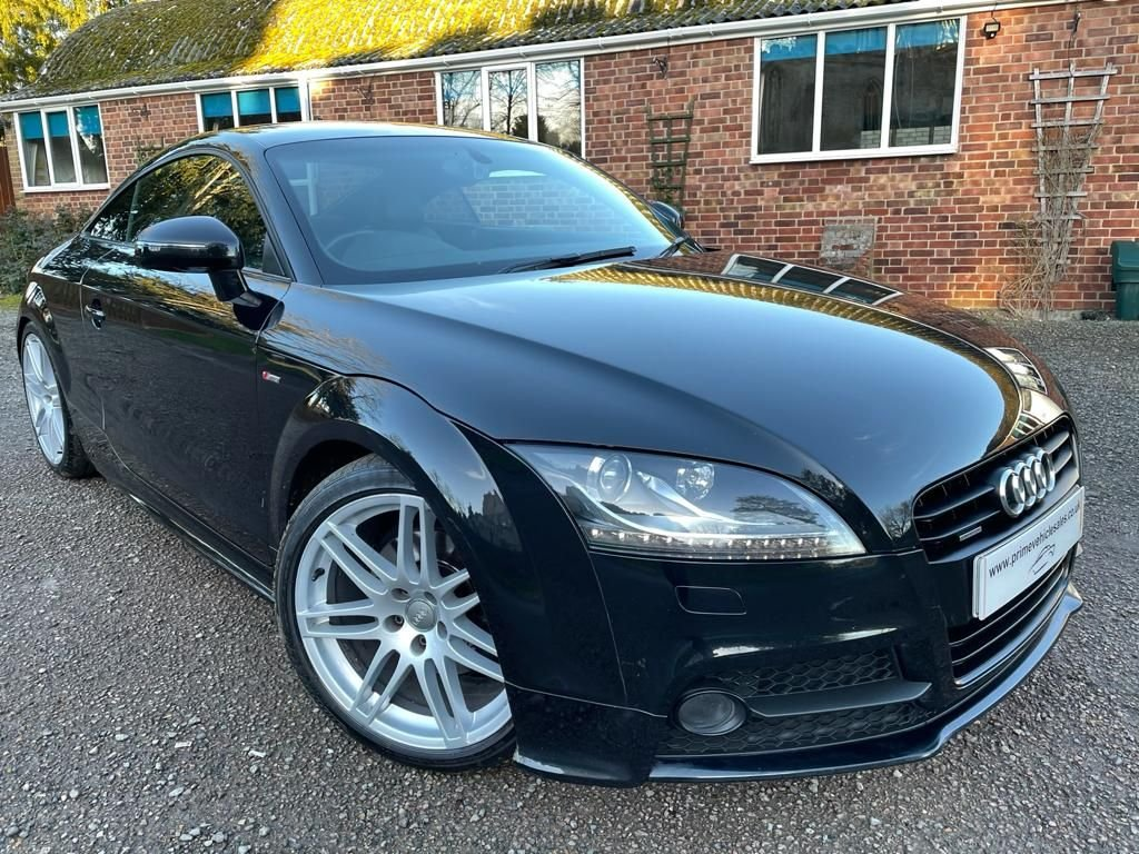 USED 2014 AUDI TT Coupe 2.0 TDI Quattro Black Edition 2dr