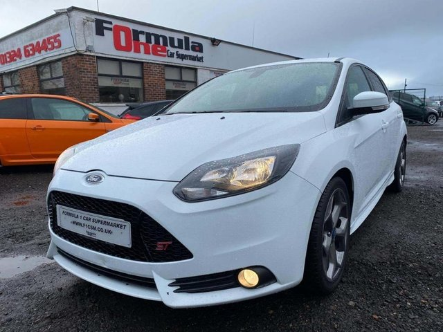 USED 2013 63 FORD FOCUS 2.0 ST-3 5d 247 BHP 4 stamp history,stunning