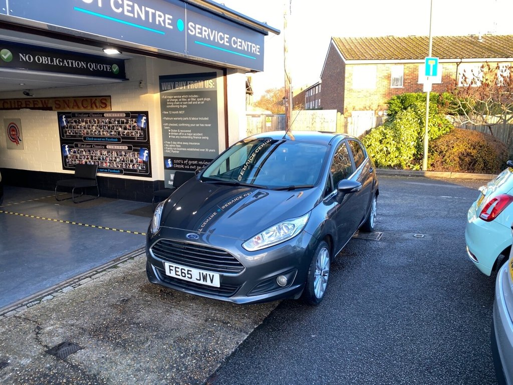 USED 2015 65 FORD FIESTA 1.0 TITANIUM X 5d 99 BHP HEATED LEATHER -REVERSE CAMERA - BLUETOOTH - DAB