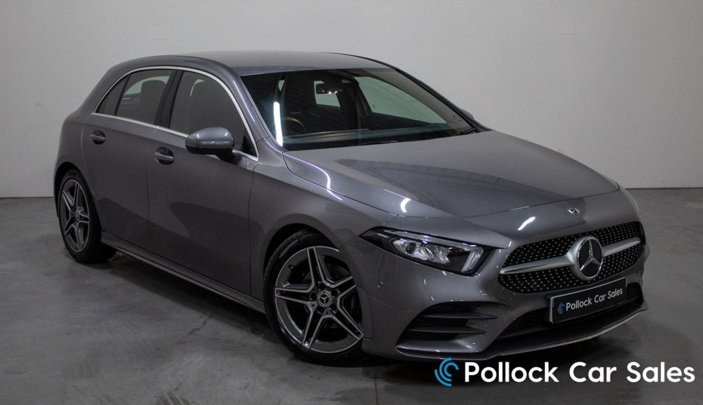 USED 2019 19 MERCEDES-BENZ A-CLASS 1.3 A 180 AMG LINE EXECUTIVE 5d 135 BHP Htd Seats, Folding Mirrors, Reverse Cam, Park Assist