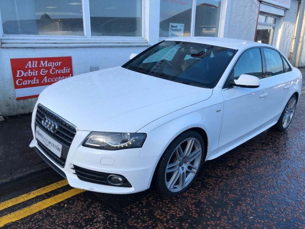 USED 2010 60 AUDI A4 2.0 TDI S LINE SPECIAL EDITION 4d 141 BHP S-LINE,HALF LEATHER,ALLOYS