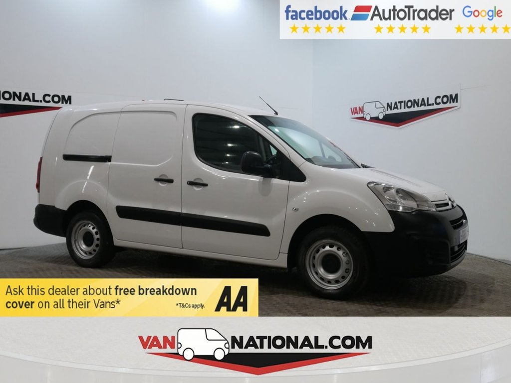 USED 2016 66 CITROEN BERLINGO 1.6 750 LX L2 BLUEHDI S/S 100 BHP (LWB EURO 6 AIR CON 3 SEATS 6 DOORS) * ONE OWNER * EURO 6 * LWB * A/C * ZERO DEPOSIT FINANCE AVAILABLE *