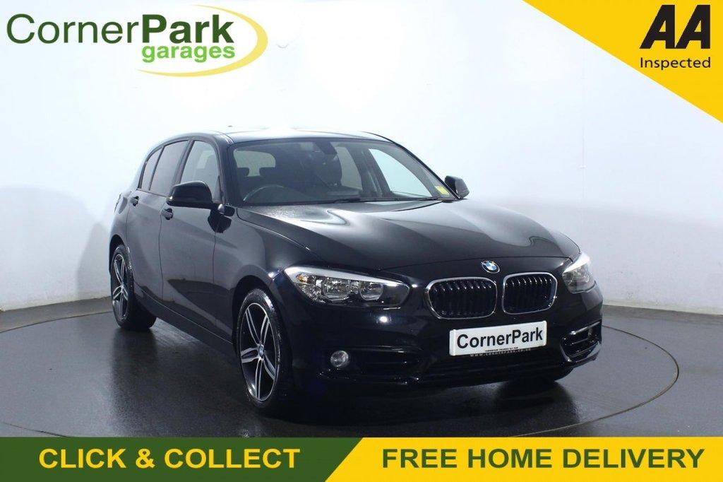 USED 2018 68 BMW 1 SERIES 2.0 118D SPORT 5d 147 BHP