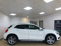 USED 2016 66 MERCEDES-BENZ GLA-CLASS 2.1 GLA 200 D AMG LINE EXECUTIVE 5d Family SUV AUTO Stunning in White with Great High Spec inc Sat Nav Heated Seats Reverse Camera Electric Tailgate Recent Service & MOT Ready to Finance and Drive Away Today STUNNING FAMILY SUV WITH BRILLIANT SPEC!