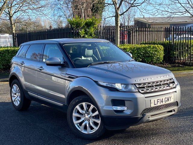 USED 2014 14 LAND ROVER RANGE ROVER EVOQUE 2.2 ED4 PURE TECH 5d 150 BHP