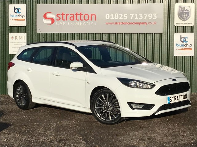 USED 2017 17 FORD FOCUS 1.5 ST-LINE 5d 148 BHP ESTATE