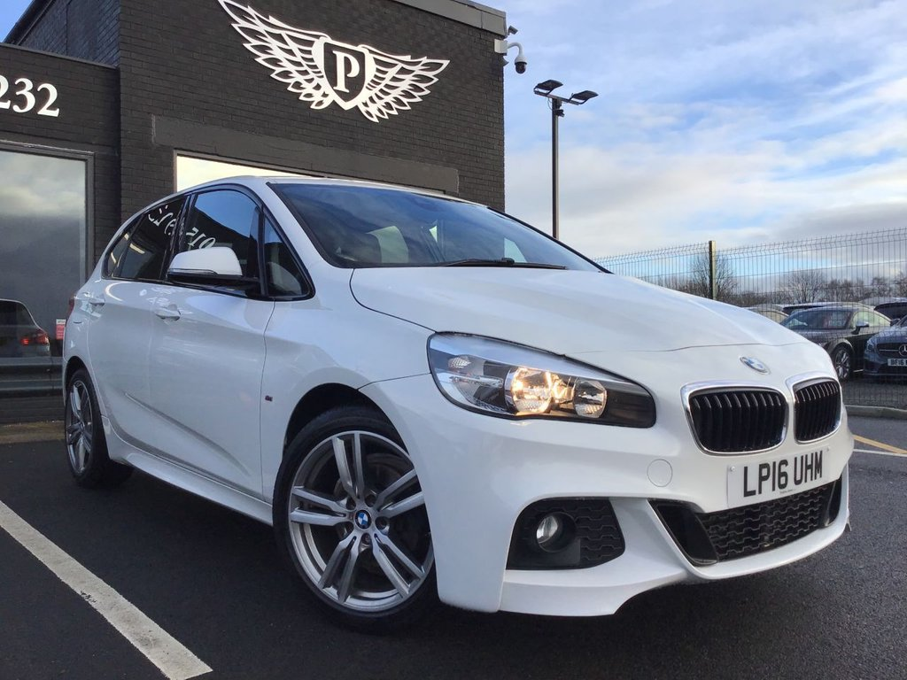 USED 2016 16 BMW 2 SERIES 2.0 218D M SPORT ACTIVE TOURER 5d 148 BHP