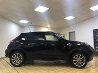 USED 2017 17 NISSAN JUKE 1.5 TEKNA DCI 5d Family SUV with Great High Spec inc Sat Nav Leather Seats DAB Radio Bluetooth and much more. Recent Service & MOT with New Battery & New Brakes Ready to Finance and Drive Away STYLISH, PRACTICAL AND ECONOMICAL FAMILY SUV WITH BRILLIANT SPECIFICATION