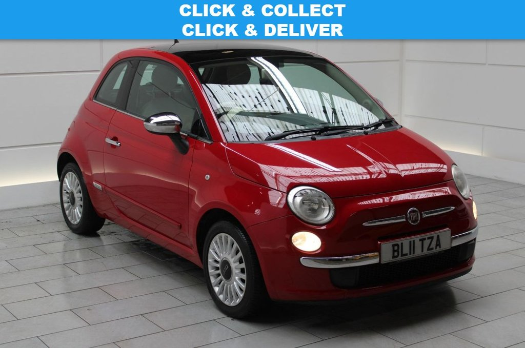 USED 2011 11 FIAT 500 1.2 Lounge (start/stop)