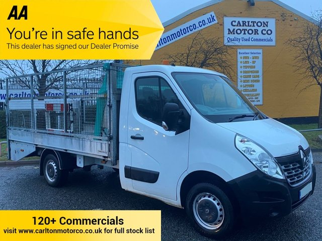 2015 15 RENAULT MASTER 2.3 ML35 BUSINESS DCI 125 [ BEAVERTAIL / PLANT CAGED BODY ]