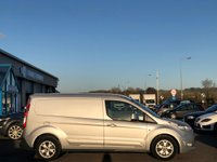 USED 2017 17 FORD TRANSIT CONNECT 1.5 240 LIMITED LWB L2 Panel Van with 3 front Seats Side Loading Door NO VAT TO PAY Great High Spec inc Heated Driver Seat Air Conditioning DAB Radio Bluetooth, Ready to Finance and Drive Away Today. 1 Former Keeper