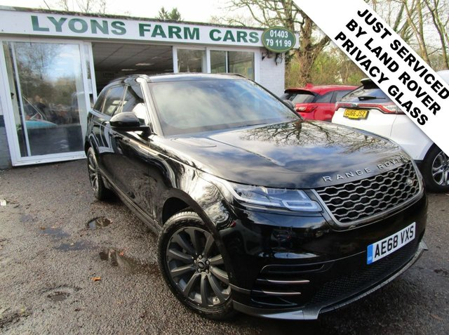 USED 2018 68 LAND ROVER RANGE ROVER VELAR 2.0 R-DYNAMIC D 180 SE AWD 5d 178 BHP AUTOMATIC ALL WHEEL DRIVE *VAT QUALIFYING* £37,995 NO VAT + VAT QUALIFYING! Just Serviced by Land Rover, One Owner, MOT until December 2021